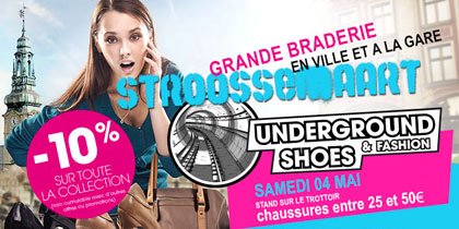Action spéciale week-end Underground Shoes