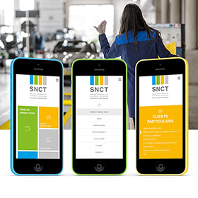 Snct Conception du site SNCT