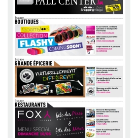 Pall Center Newsletter mensuelle