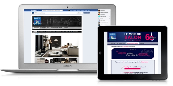 Decker Line Site sur Facebook