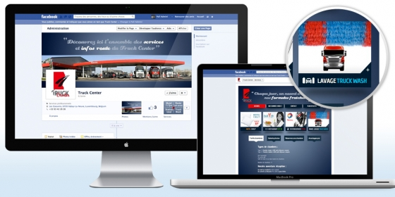 Truck Center Site vitrine Facebook